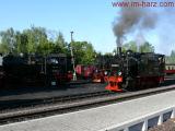 Bahnh�fe, Preise f�r die Brockenbahn